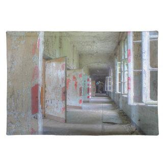 Doors and Corridors 02.1, Lost Places, Beelitz Placemat