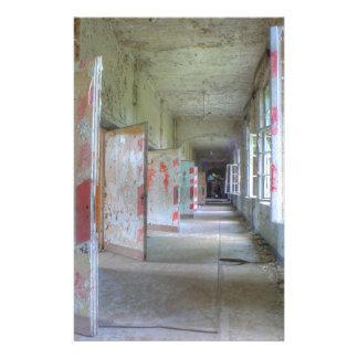 Doors and Corridors 02.1, Lost Places, Beelitz Stationery