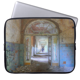 Doors and Corridors 03.0, Lost Places, Beelitz Laptop Sleeve