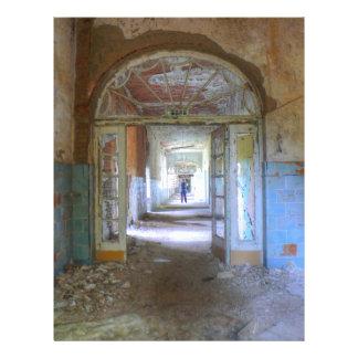 Doors and Corridors 03.0, Lost Places, Beelitz Letterhead
