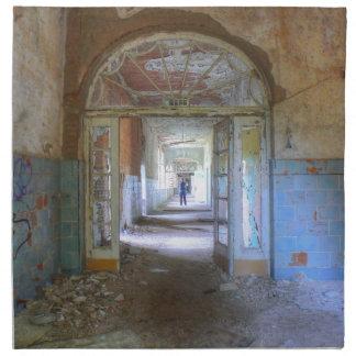 Doors and Corridors 03.0, Lost Places, Beelitz Napkin