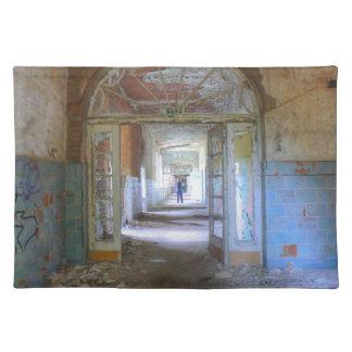 Doors and Corridors 03.0, Lost Places, Beelitz Placemat