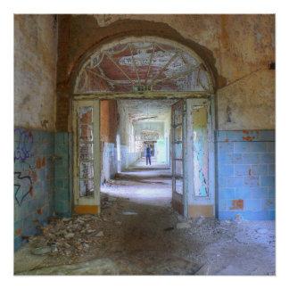 Doors and Corridors 03.0, Lost Places, Beelitz Poster