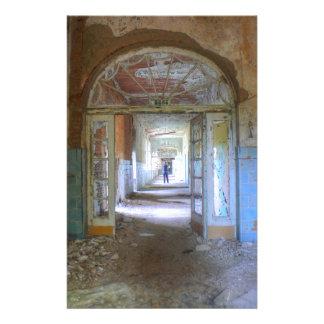 Doors and Corridors 03.0, Lost Places, Beelitz Stationery
