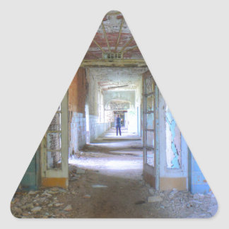Doors and Corridors 03.0, Lost Places, Beelitz Triangle Sticker
