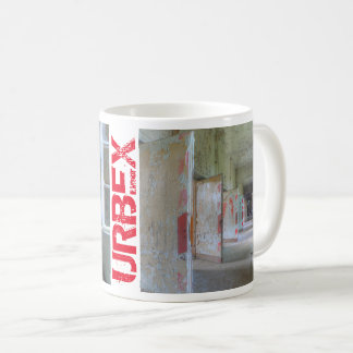Doors and Corridors 2.1, URBEX, Lost Places Coffee Mug