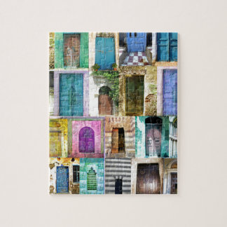 Doors and Windows from Around the World Jigsaw Puzzle