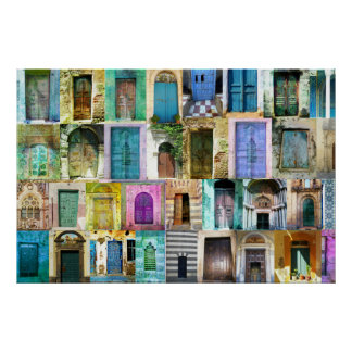 Doors and Windows from Around the World Poster