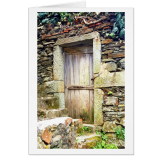 Doors from the Cinque Terre Note Card