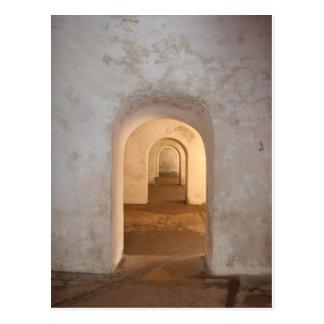Doors in El Morro Postcard
