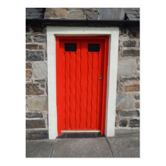 Doors of Cullen, Moray, Scotland Postcard