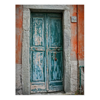 Doors of Italy - the Cinque Terre - Postcard