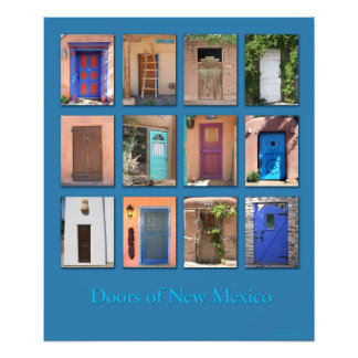 Doors of New Mexico version 1 Art Photo