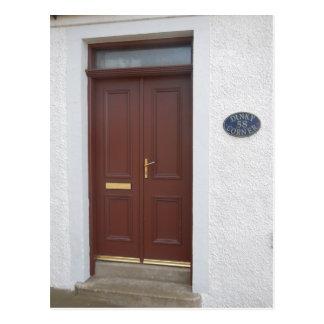 Doors of Scotland - Cullen, Moray Postcard