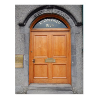 Doors of Scotland - The Glenlivet Distillery Postcard