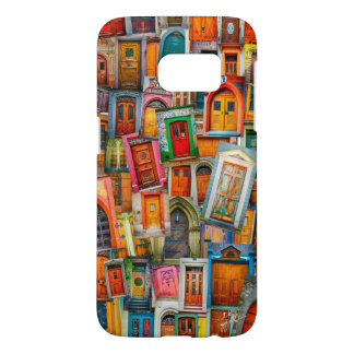 Doors of The World Colorful Unique Samsung Galaxy S7 Case