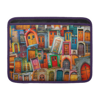 Doors Of The World Macbook Air Sleeve