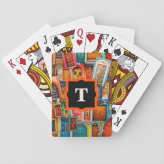 Doors of the World Unique Playing Cards