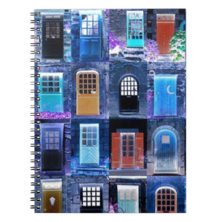 doors spiral note book