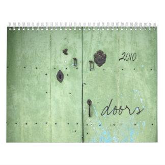 doors wall calendars