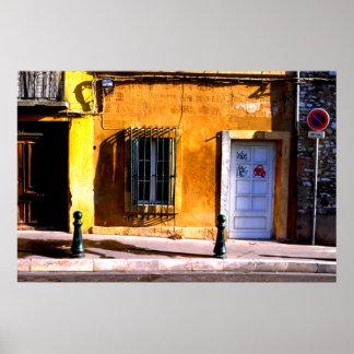 Doorway, Aix-en-Provence Poster