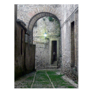 Doorway in Erice Sicily Postcard