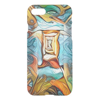 Doorway to beyond, abstract expression dreamscape iPhone 8/7 case