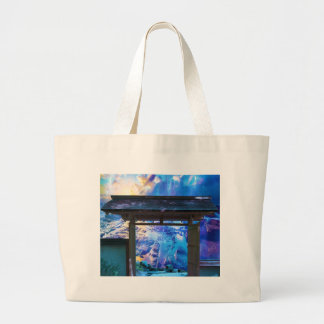 Doorway to Heaven Large Tote Bag