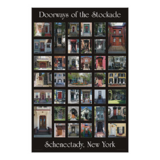 "Doorways of the Stockade 24"" x 36"" poster"