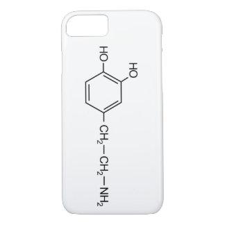 dopamine chemical formula drug dope chemistry elem iPhone 8/7 case