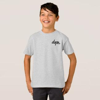Dopant d'enfants. T-shirt de cendre de classiques