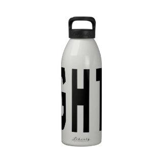 Dopant droit bouteille d'eau