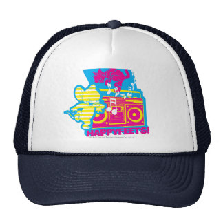 Dope Beats Happy Feets Trucker Hat