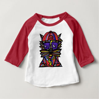 """Dope Evolution"" Baby 3/4 Raglan T-Shirt"