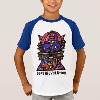 """Dope Evolution"" Boys' Short Sleeve Raglan T-Shirt"