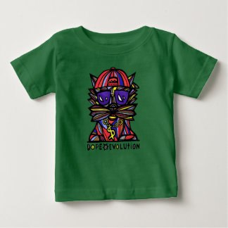 """Dope Evolution"" BuddaKats Baby T Shirt"