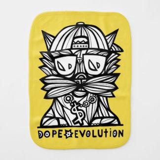 """Dope Evolution"" Burp Cloth"