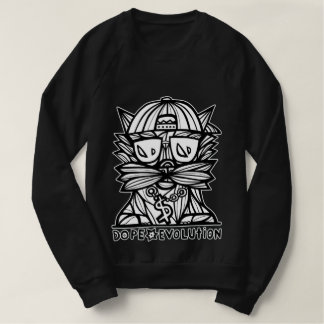 """Dope Evolution"" Men's American Apparel Sweatshirt"