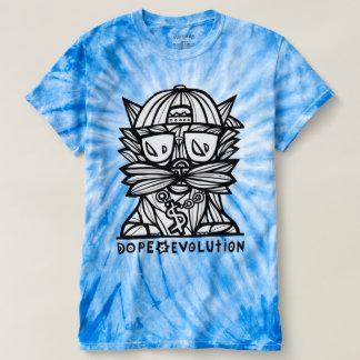"""Dope Evolution"" Men's Cyclone Tie-Dye T-shirt"