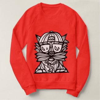 """""""Dope Evolution"""" Men's Raglan Sweatshirt"""