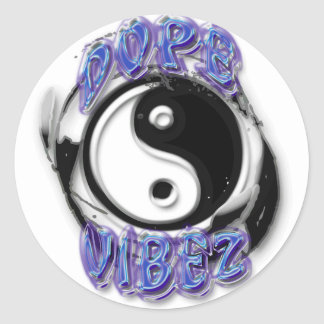 Dope Vibez Yin Yang Sticker II