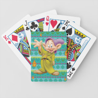 Dopey Waving Poker Deck