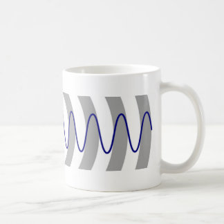 Doppler effect diagram coffee mug