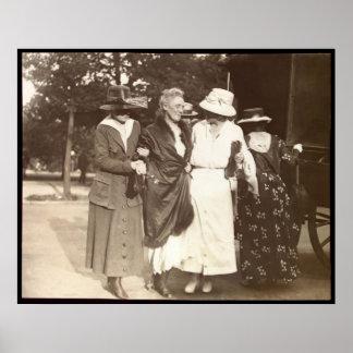 Dora Lewis Suffragette Poster