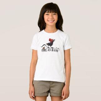 Dorcas Bass Logo with baby crow T-Shirt