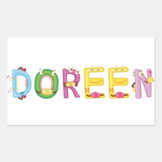 Doreen Sticker