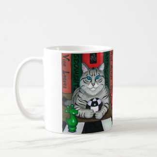 DORIAN GREY CAT MUG