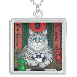 DORIAN GREY CAT PENDANT