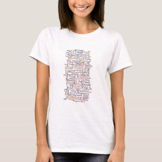 Doric Word Map T-Shirt