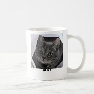 Doris the cat coffee mug